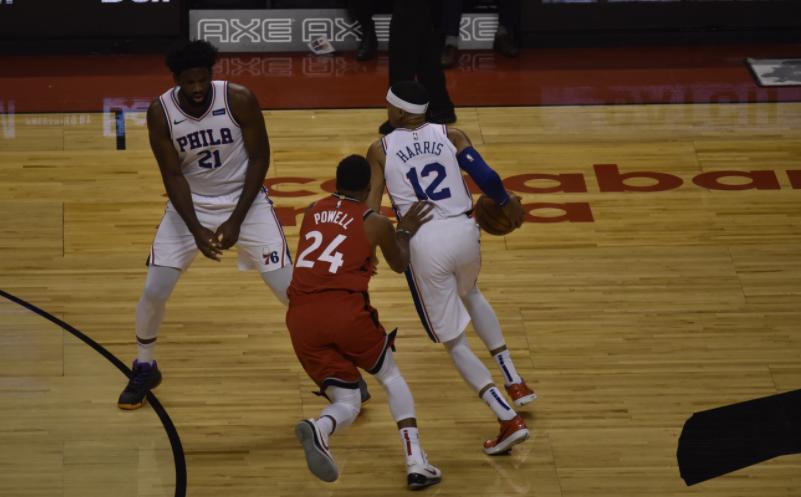 Harris vs Raptors