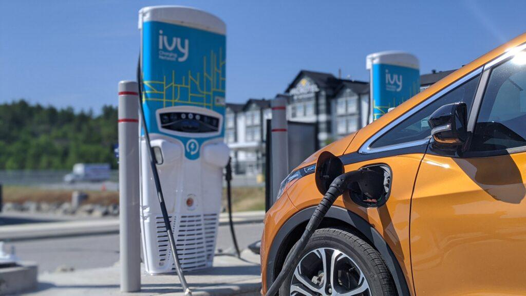 borne ivy voitures électriques