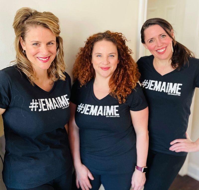 Chiclettes bourse #JeMaime t-shirt