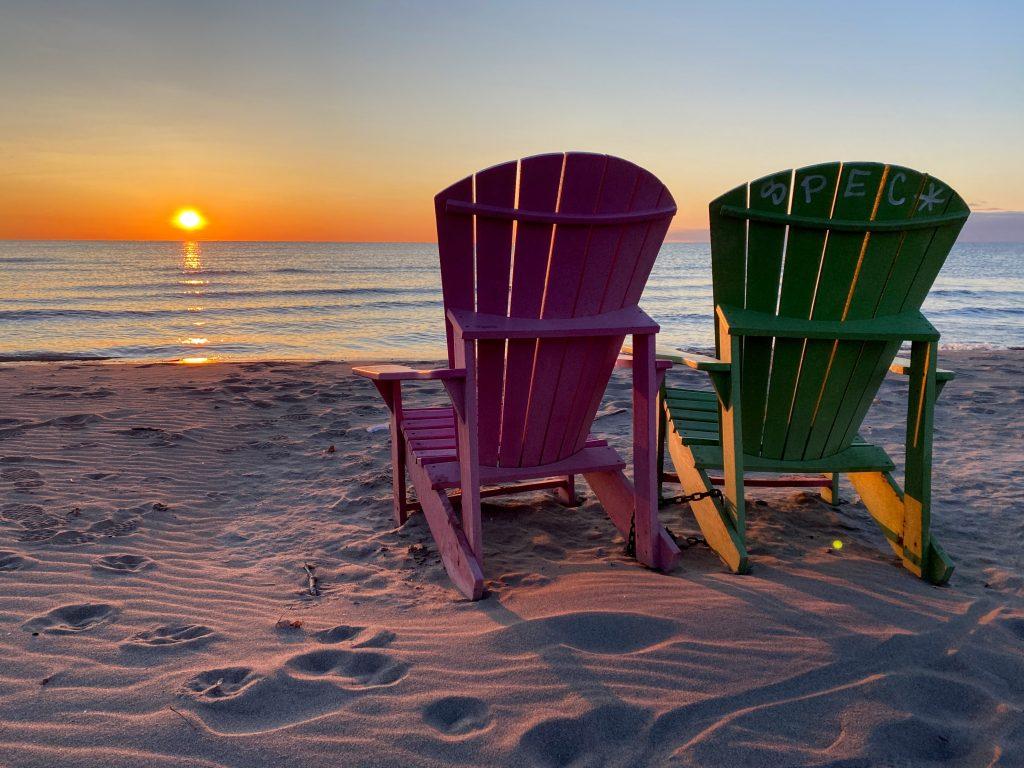 lever du soleil Beach Beaches plage Woodbine