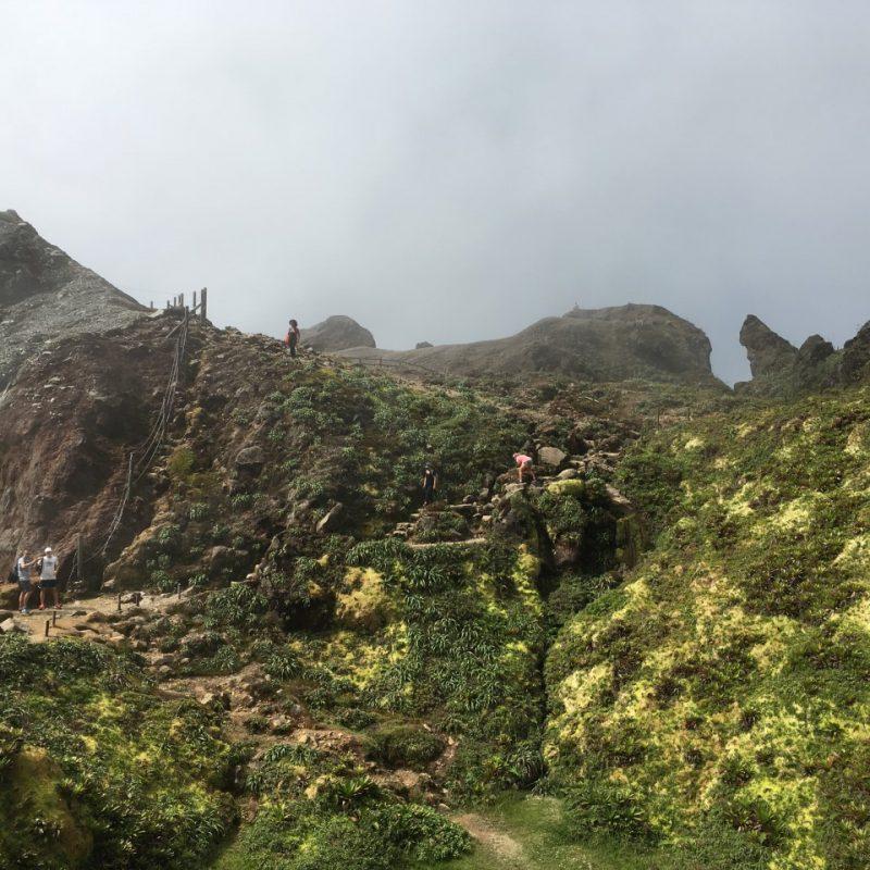 Volcan la Soufrière Guadeloupe