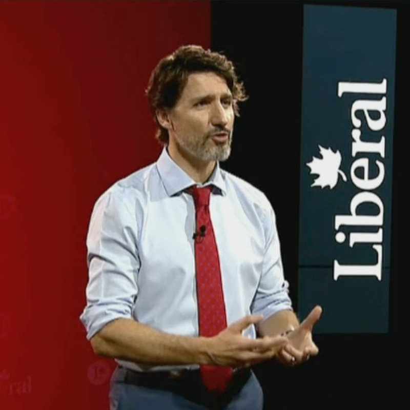 Congrès PLC Parti libéral 2021_Justin Trudeau
