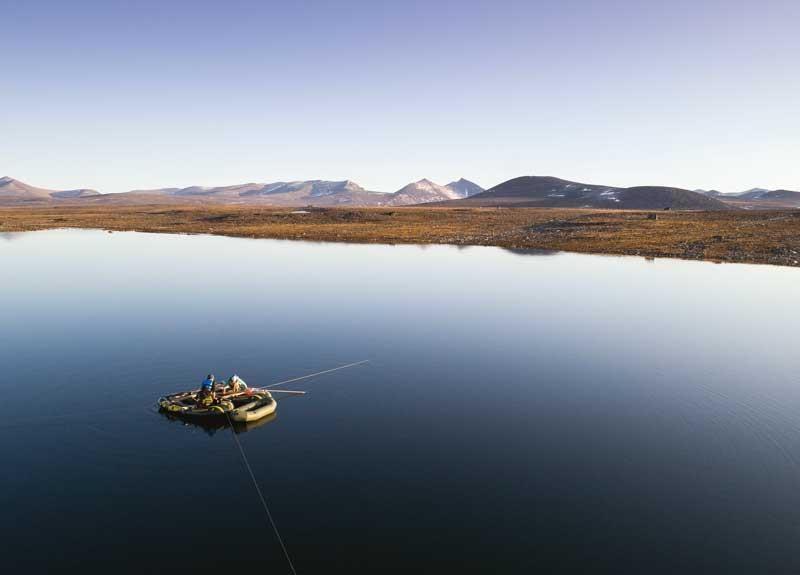 Nunavut Arctique climat végétation