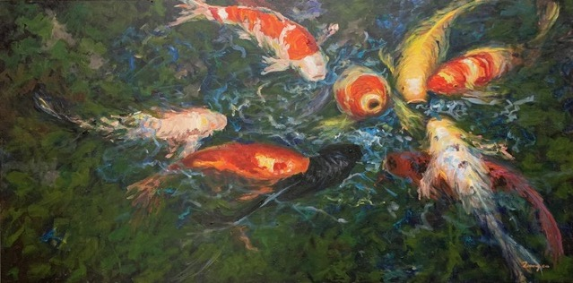 histoire d'immigration Zoong Nguyen Sie-Mah artiste peintre