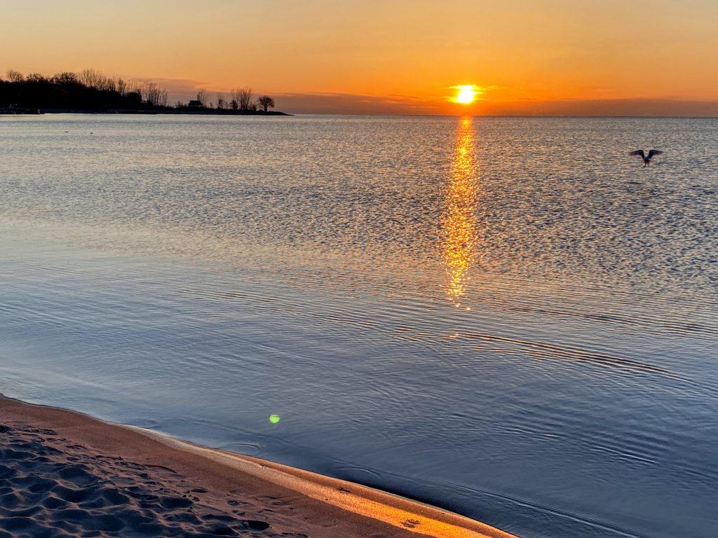 Lever de soleil Beaches