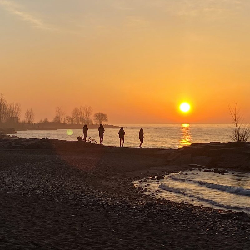 lever du soleil Beaches