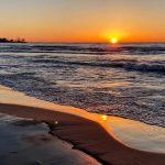 lever de soleil Beach