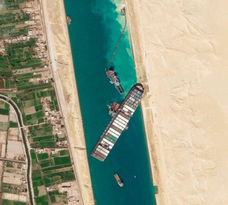 Canal de Suez porte-conteneurs