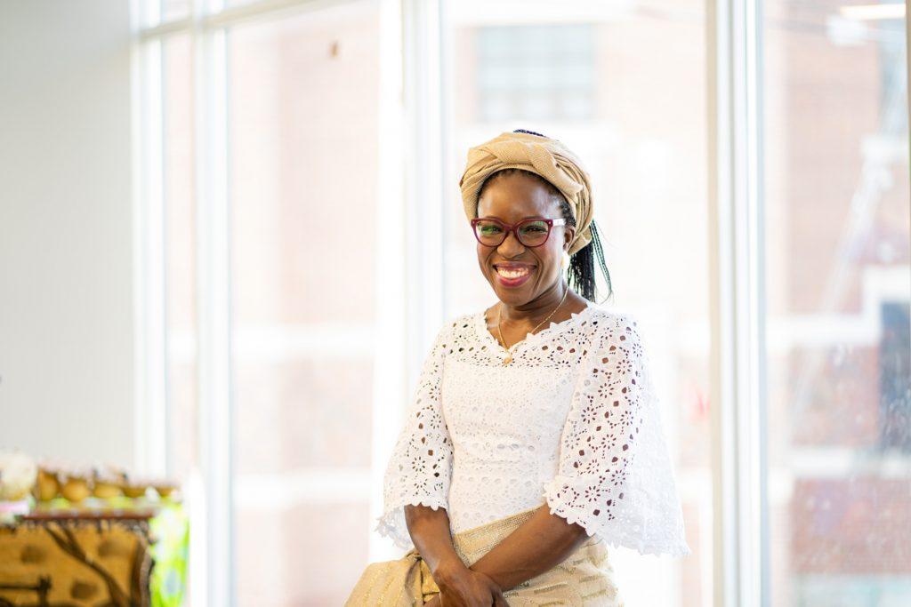Histoires d'immigration, Sandra Adjou