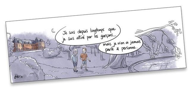 Pédale! LGBTQ sortie du placard BD bande dessinée roman graphique