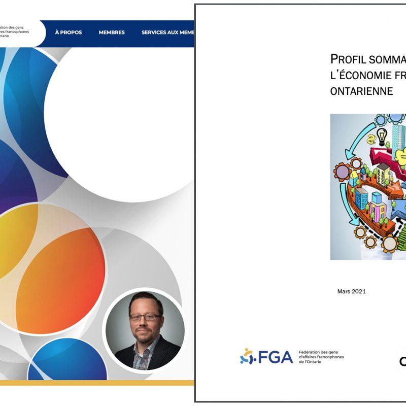 FGA économie franco-ontarienne
