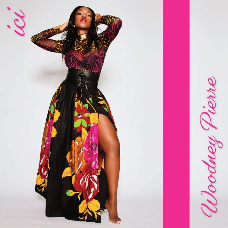 """Couverture du single """"ICI"""" de Woodney Pierre"""