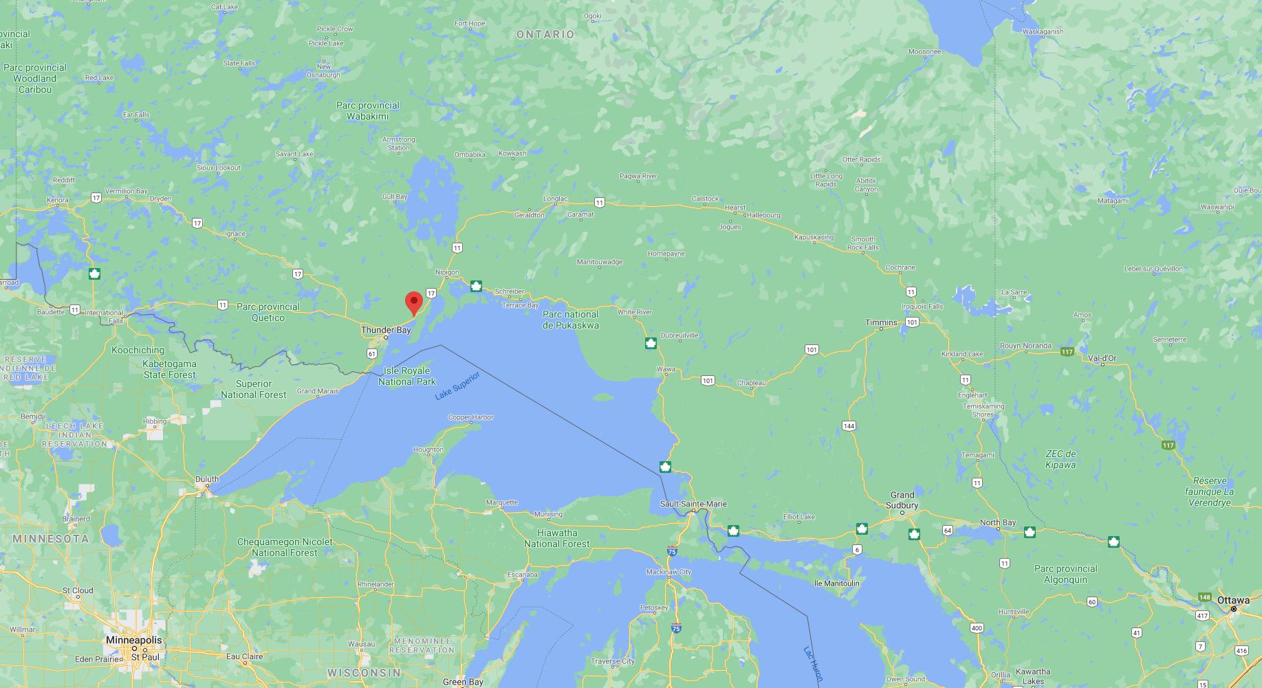 Route 11, Vibrer dans le nord de l'Ontario