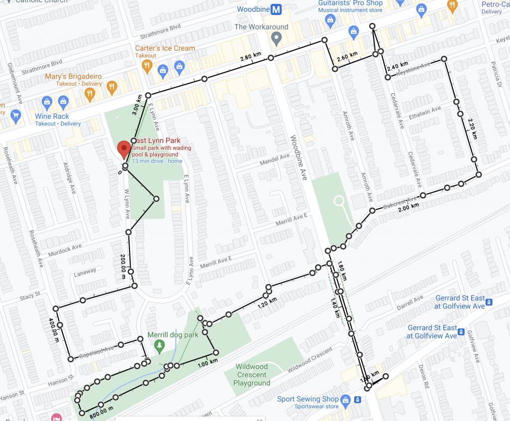 Toronto, quartier East Danforth