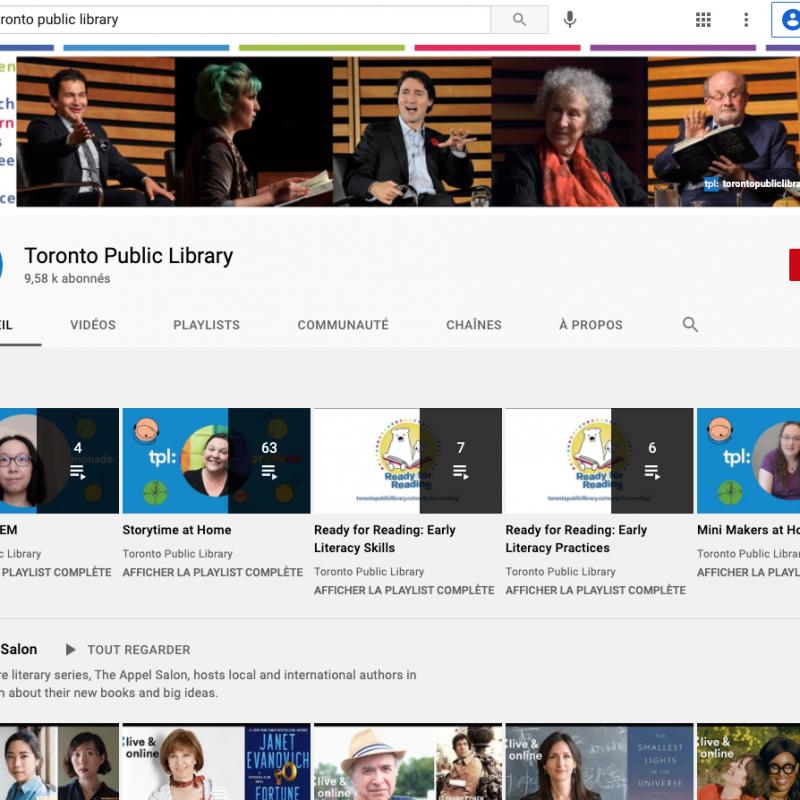 Bibliothèque de Toronto, TPL