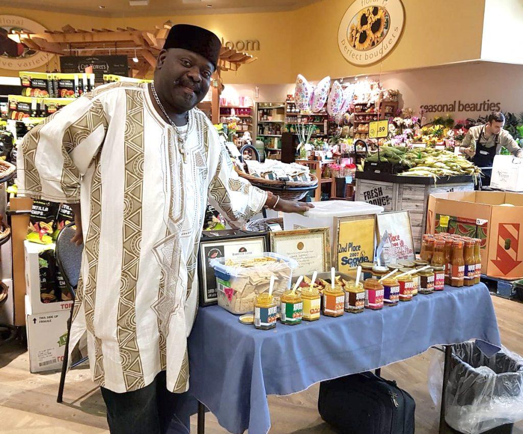 Histoires d'immigration, Edmond Segbeaya, sauces piquantes