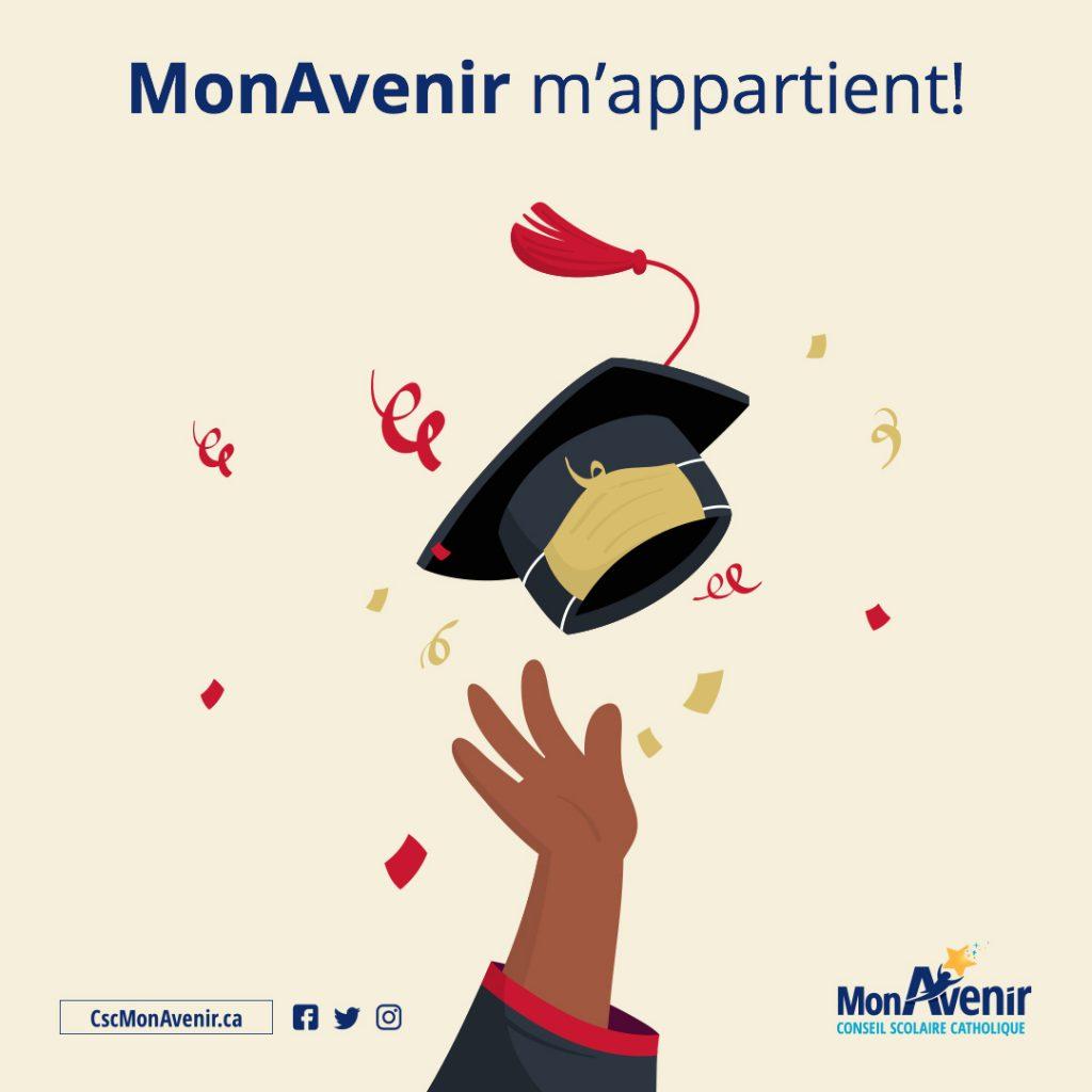 graduation, diplômes, MonAvenir