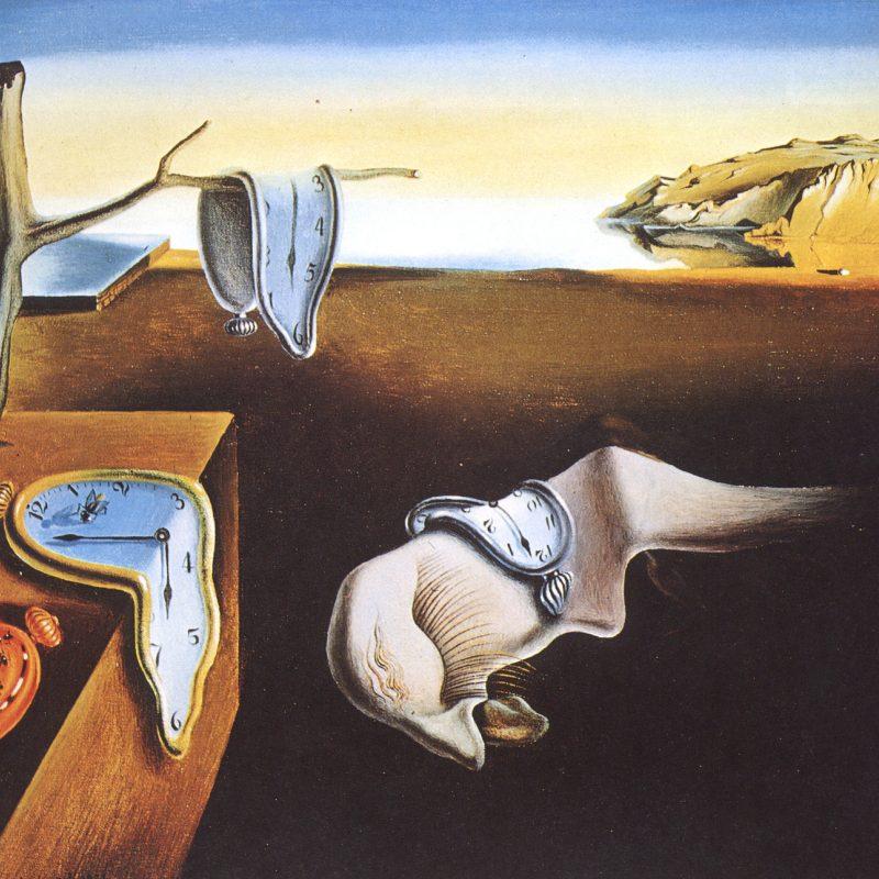 Salvador Dali, covid, montres molles