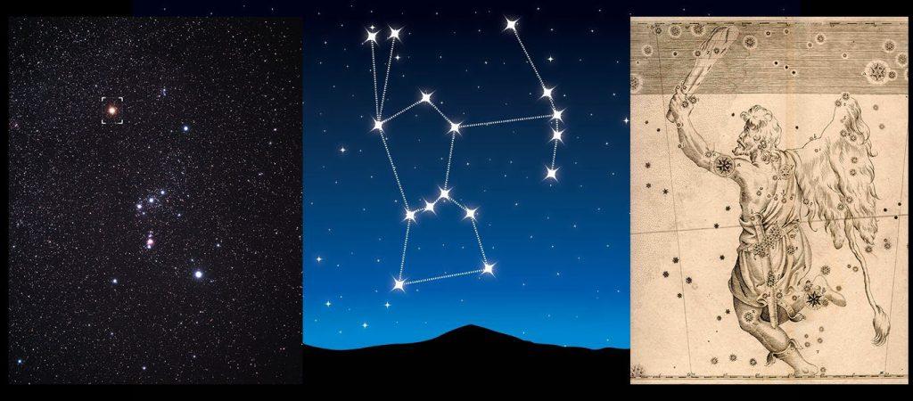 Orion, étoile Bételgeuse