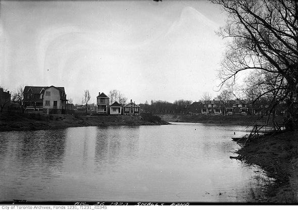 Parc Orchard, étang Small Pond