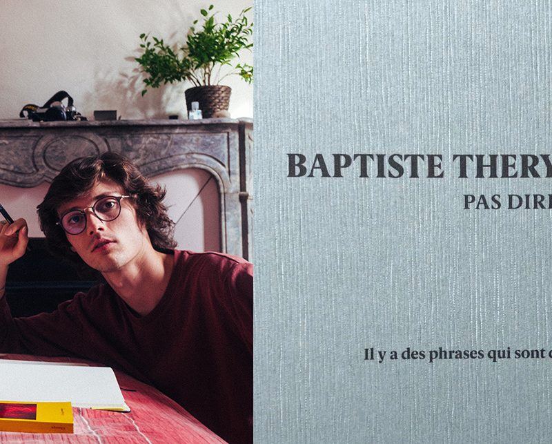 Baptiste Thery-Guilbert, Pas dire