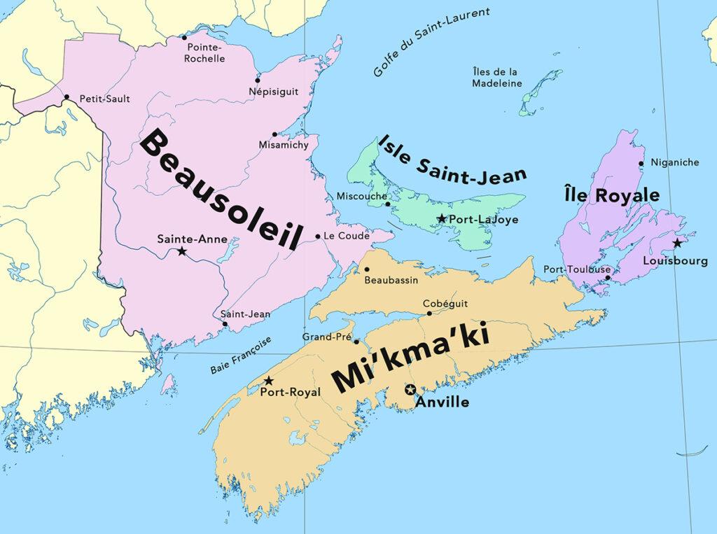 République acadienne, Acadie indépendante