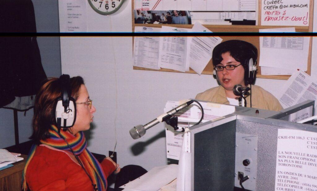 équipe diffusion, Coopérative radiophonique de Toronto
