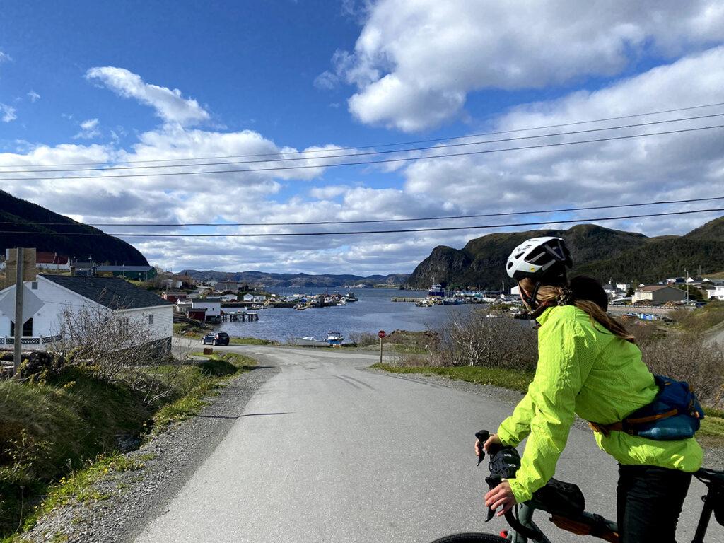 vélo, Terre-Neuve