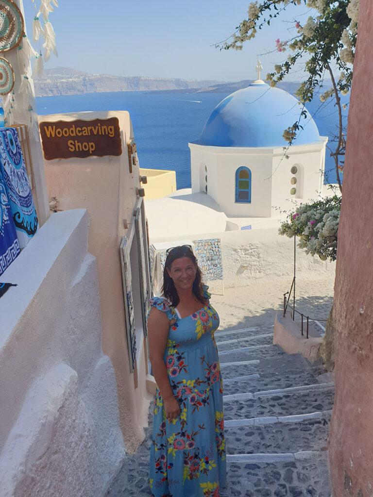 Santorin, Grèce, mer Égée, Aurélie Resch