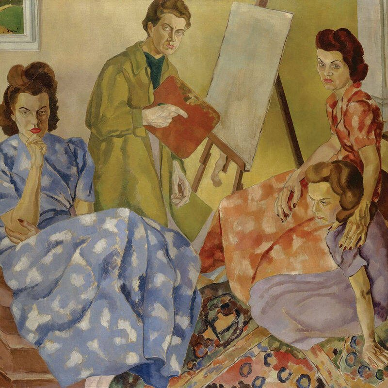 femmes artistes, exposition Uninvited, Musée McMichael, Groupe des Sept