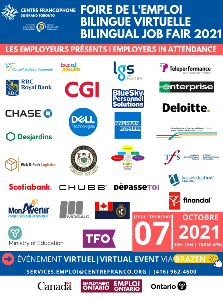 CFGT, forum de l'emploi, foire d'emploi