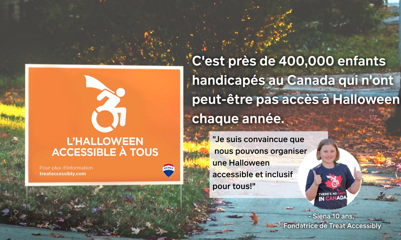 Une élève de Toronto French School veut rendre l'Halloween «accessible à tous»